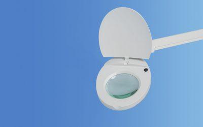 Lupa LED H.F